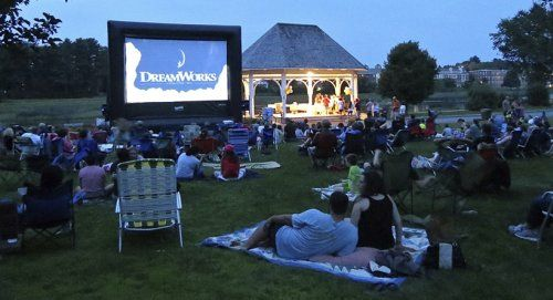 Free movie under the stars