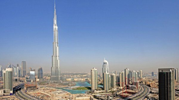 The tallest building - Burj Khalifa