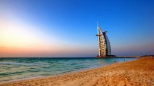 Popular beaches of Dubai