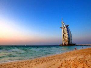 Popular beaches of Dubai