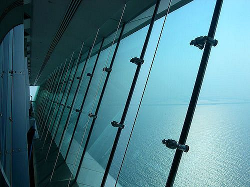 The Skyview Bar in Dubai