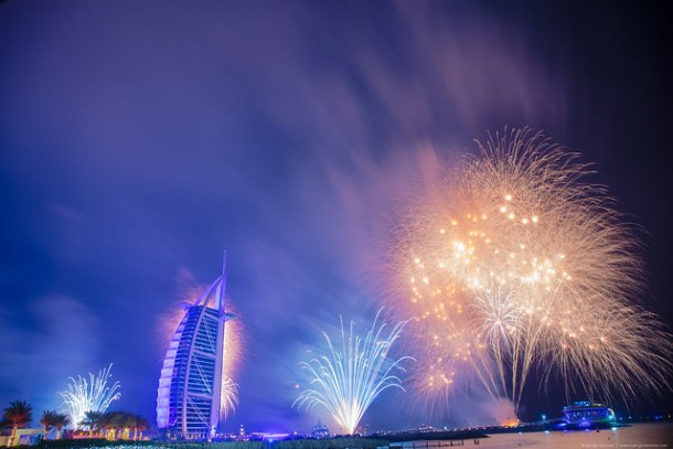 New Year Party in Dubai